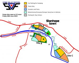 Website map with Site C 04-02-2019