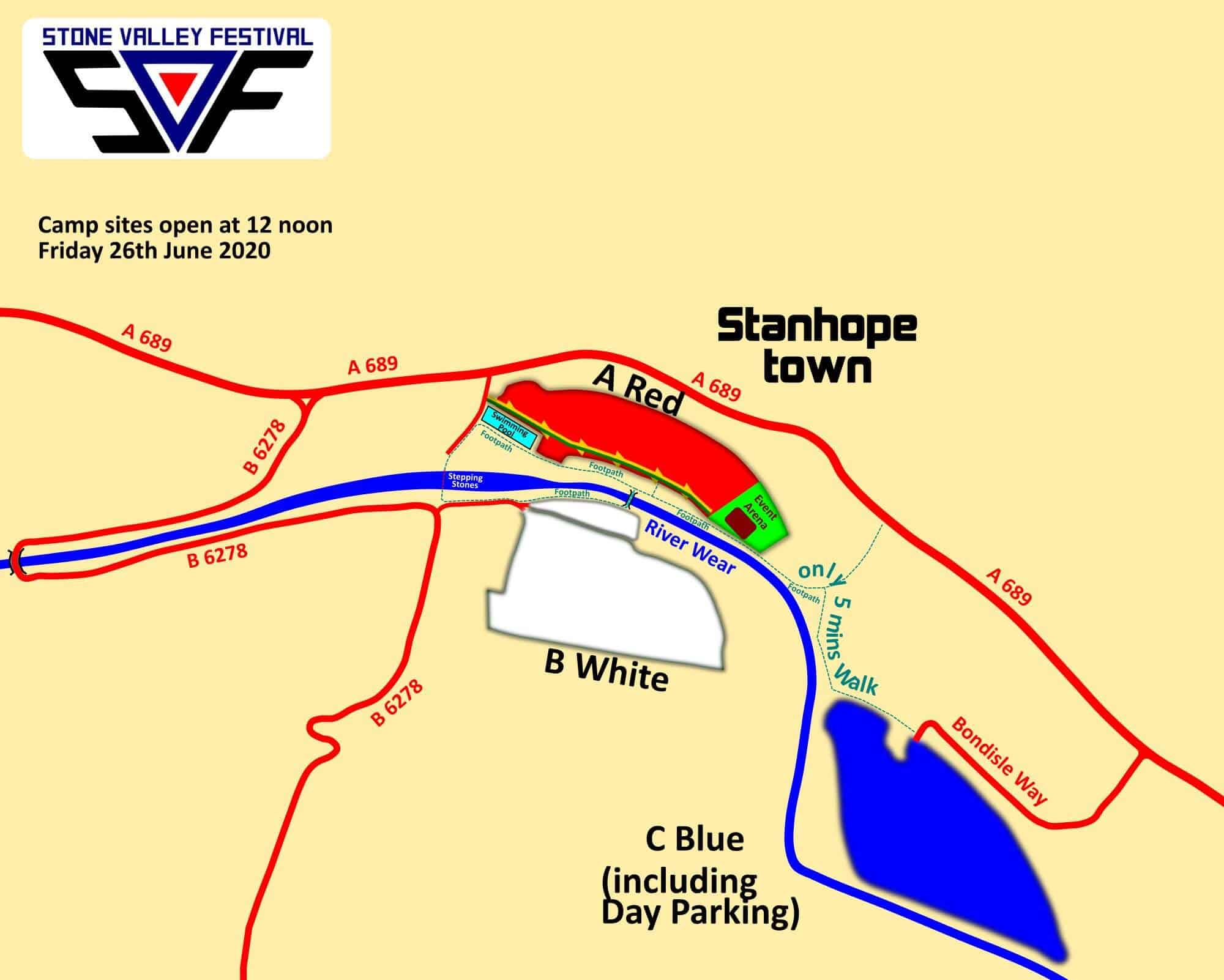 SVF NORTH 2020 SITE MAP