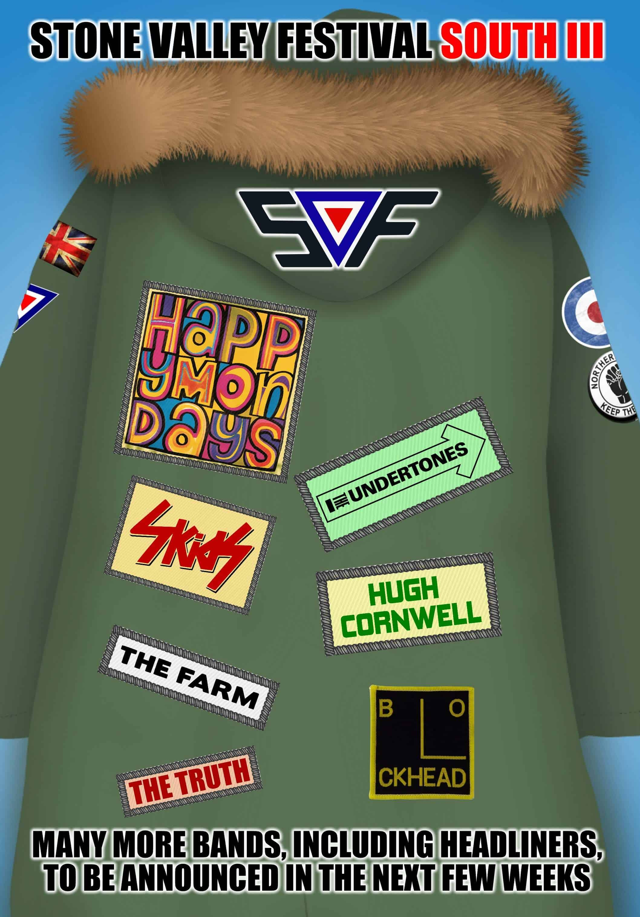 PARKA 5 WITH HAPPY MONDAYS